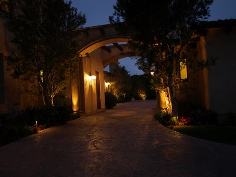 Calabasas Landscape Lighting Modern Landscape  Lighting