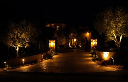 Calabasas Landscape Lighting Fixtures
